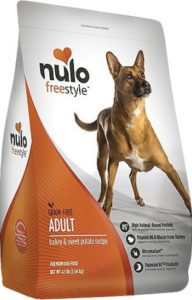 Nulo Freestyle brands grain-free dog foods for dogs