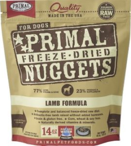 Primal fresh grain free large breed foods for basset hound needs