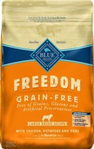 Blue Buffalo Freedom Chicken For Dogs Diet - Best Corn-free Food For Great Dane