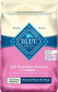 blue buffalo dry dog food for small breed best puppy food for Yorkies dogs good protein