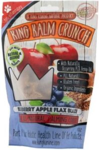 KING KALM™ Crunch - blueberries one option for dogs