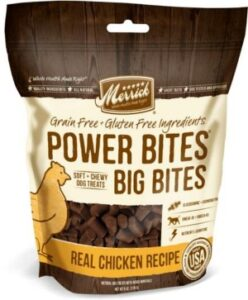 Merrick Power Bites food