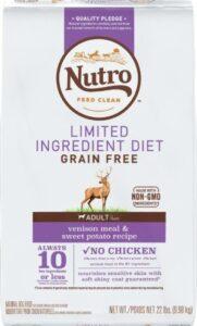 Nutro venison and potatoes dog food recipes