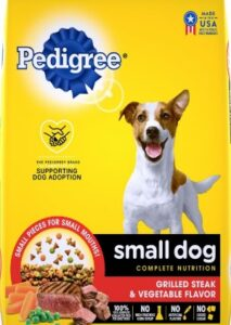 Pedigree high protein content and balance of mineral for dogs