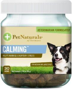 Pet Naturals Of Vermont Dog Chew Calming