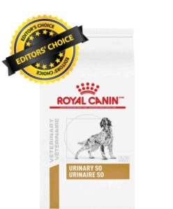 Royal Canin Veterinary Diet dog food for urinary problems