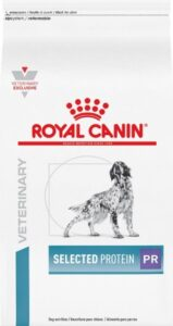 royal selected high protein dry food with amino acids