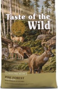 taste of the wild with zinc and antioxidants for dog