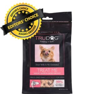 TruDog salmon healthy snacks for dogs - number one best dog