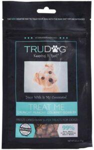 TruDog turkey one best healthy dog treats