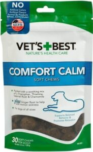 Vets Best Comfort Calm Soft Chew Supplement