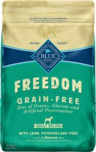 Blue Buffalo Freedom Grain-Free For Adult for allergic reaction