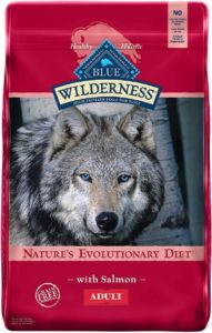 Blue Buffalo Wilderness High-Protein Salmon For Adult for food allergy