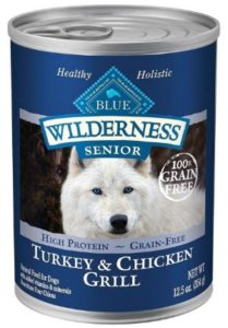 Blue Buffalo Wilderness Canned protein ingredients