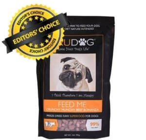 TruDog Feed Me Freeze-Dried Raw Superfood best allergy dog food