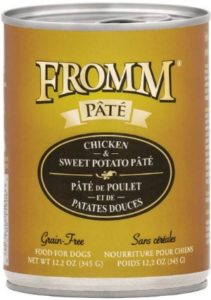 Fromm Pate Canned high-quality protein ingredients