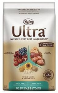Nutro Ultra best food for senior dogs protein ingredients