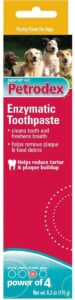 Sergeant's Petrodex Enzymatic Dogs Toothpaste