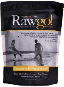 TruDog Rawgo Dehydrated Raw Superfood rosemary protein