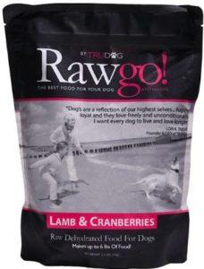 TruDog Rawgo Dehydrated protein ingredients