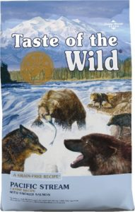 Taste Of The Wild Pacific Stream Grain-Free for dogs allergic