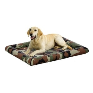 Outdoor Use Dog Bed with Machine Washable Fabric