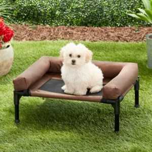 Small Dog Bed with Non Skid Bottom