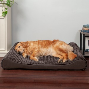 Dog Bed That's Made with Machine Washable Cover