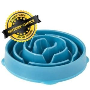 Stainless Steel Slow Feeders Dogs Bowl