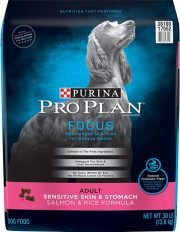 Purina Pro Plan Sensitive Skin Stomach Salmon Rice Formula Contain good fat source from fish oil
